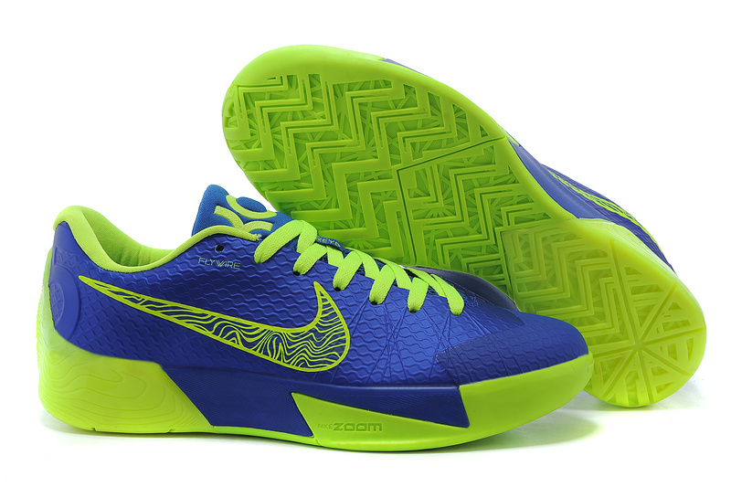 Nike KD Trey 5 II Blue Fluorscent Green Shoes