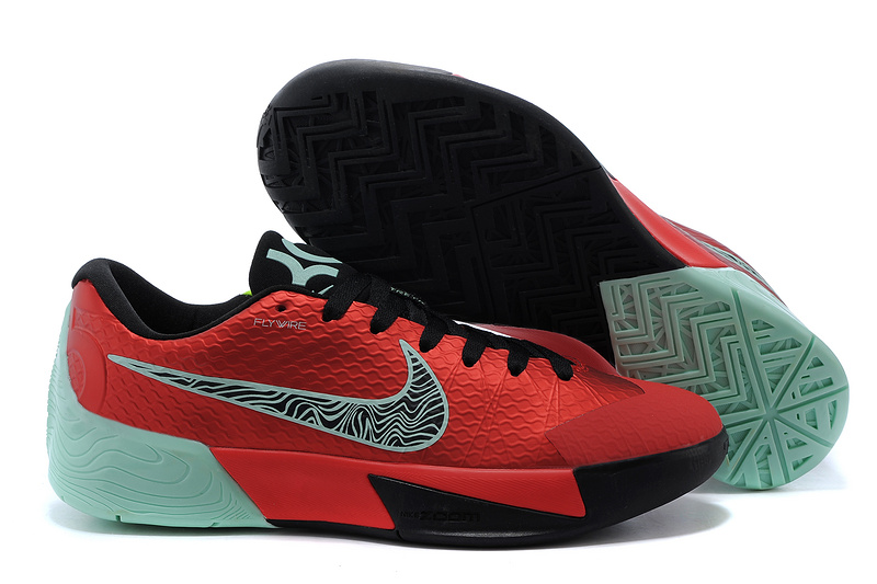 Nike KD Trey 5 II Flywire Red Black Green Shoes