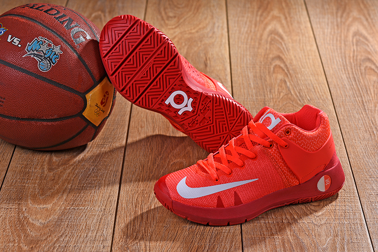 Nike KD Trey 5 Orange Red Shoes
