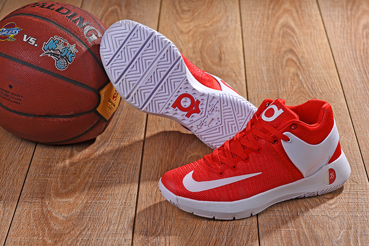 Nike KD Trey 5 Red White Shoes