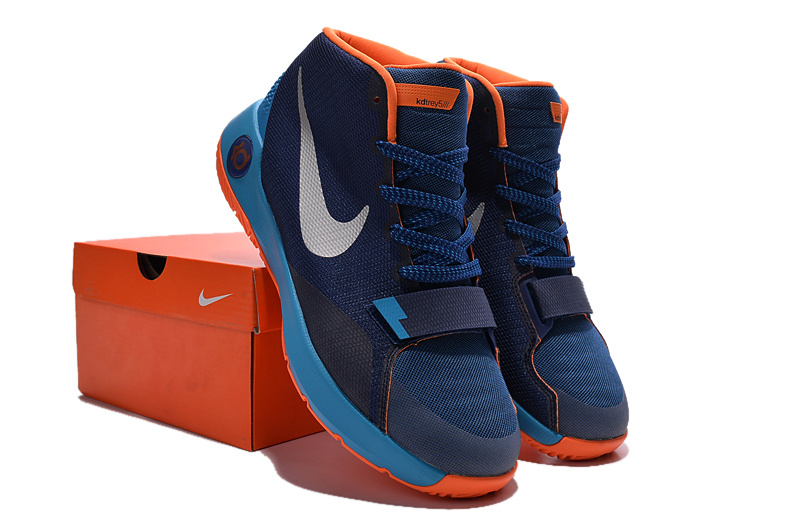 Nike KD Trey 5 III Blue Orange Shoes
