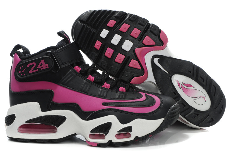 Women's Nike Ken Griffe Black Pink White Shoes