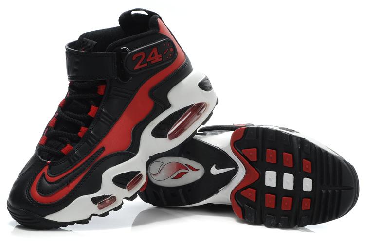 Women's Nike Ken Griffe Black Red White Shoes