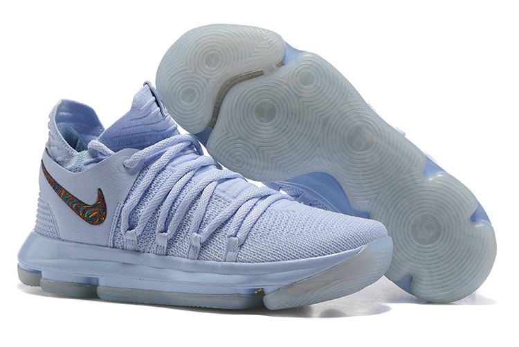 Nike Kevin Durant 10 Light Blue Shoes