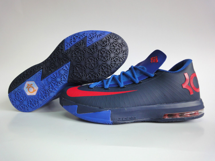 Nike Kevin Durant 6 Low Dark Blue Red