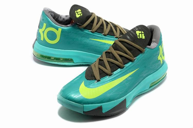 Nike Kevin Durant 6 Low Green Black