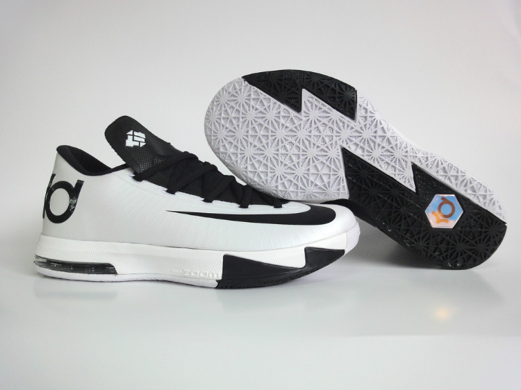 Nike Kevin Durant 6 Low White Black