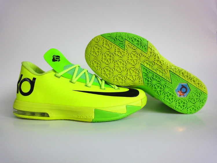 Nike Kevin Durant 6 Low Yellow Green