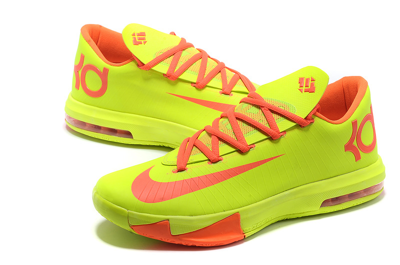 Nike Kevin Durant 6 Low Yellow Red
