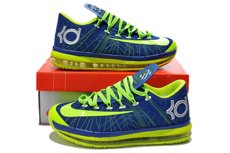 Nike Kevin Durant 6.5 Blue Yellow Shoes