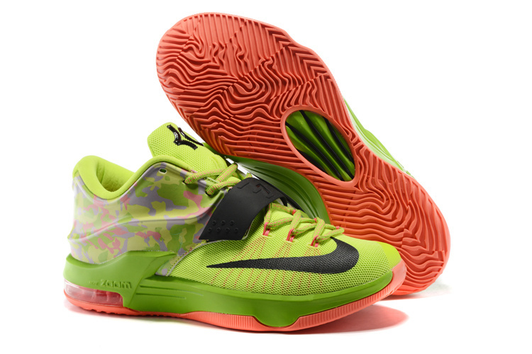 Nike Kevin Durant 7 Easter Green Black Shoes