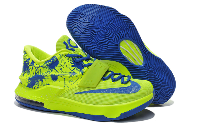 Cheap Nike Kevin Durant 7 Green Blue Shoes Online Sale