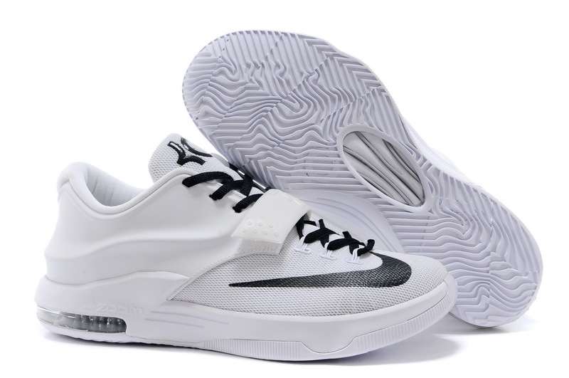 Nike Kevin Durant 7 White Black Shoes