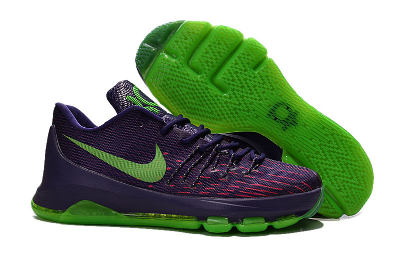 Nike Kevin Durant 8 Purple Volt Shoes