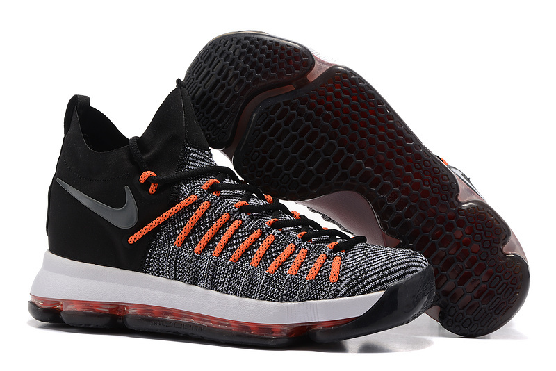 Nike Kevin Durant 9 Elite Black Orange White Shoes