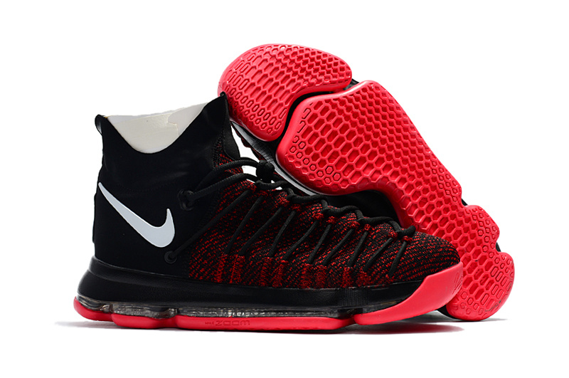Nike Kevin Durant 9 Elite Black Red White Shoes
