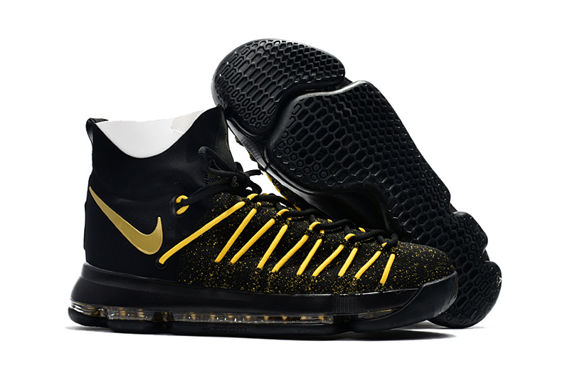 Nike Kevin Durant 9 Elite Black Yellow Shoes