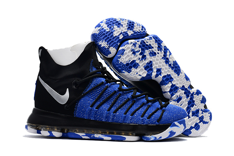 Nike Kevin Durant 9 Elite Blue Black White Shoes