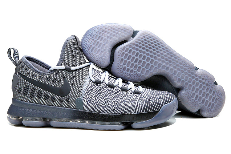 Nike Kevin Durant 9 Elite Grey Black Shoes