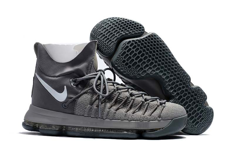 Nike Kevin Durant 9 Elite Wolf Grey Shoes