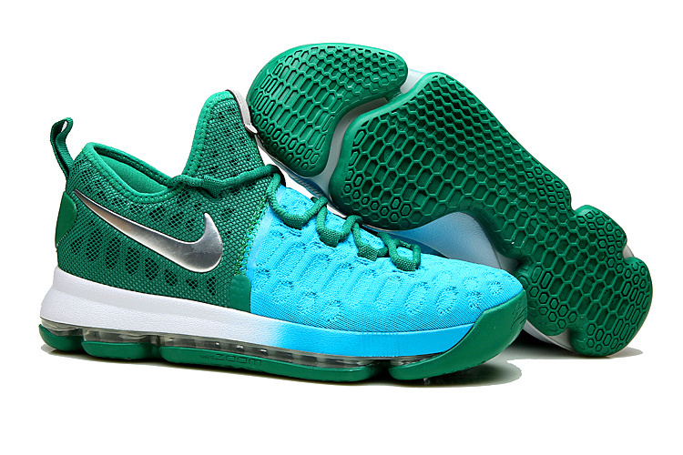 Nike Kevin Durant 9 Peacock Green Shoes