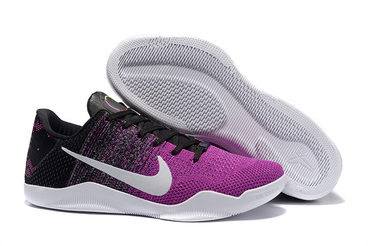 Nike Kobe 11 BHM Pink Black White Shoes