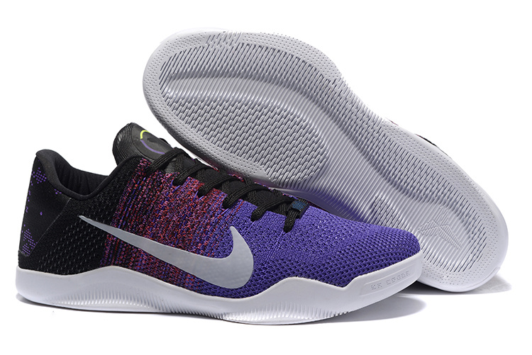 Nike Kobe 11 BHM Purple Black White Shoes