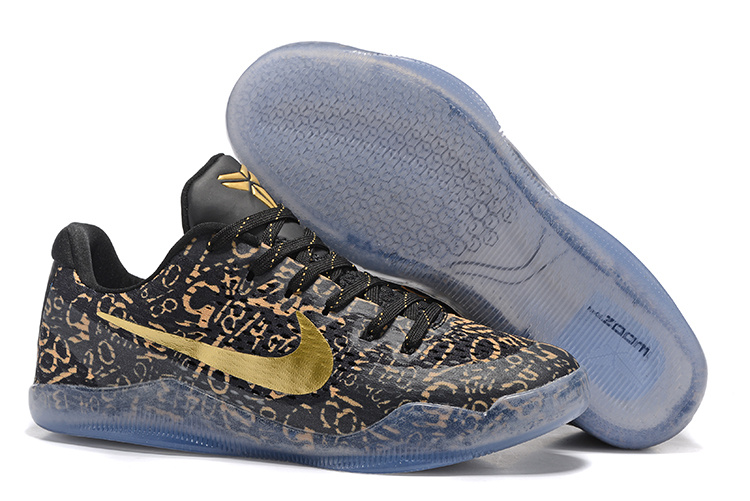 Nike Kobe 11 Black Gold Shoes