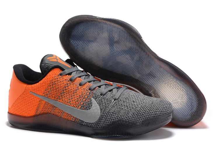 Nike Kobe 11 Easter Elite Grey Orange Shoes