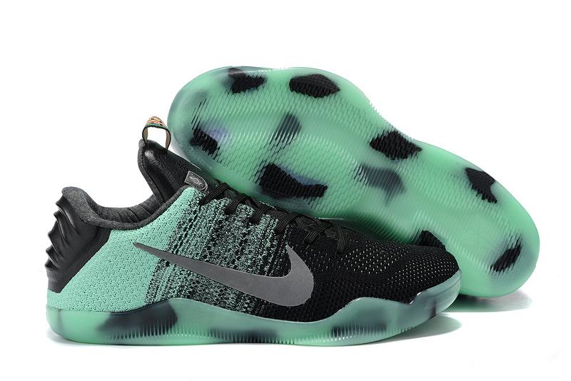 Nike Kobe 11 Elit Toronto All StarBlue Black Green Shoes
