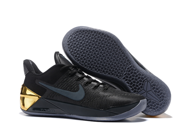 Nike Kobe 12 A.D Black Gold Shoes