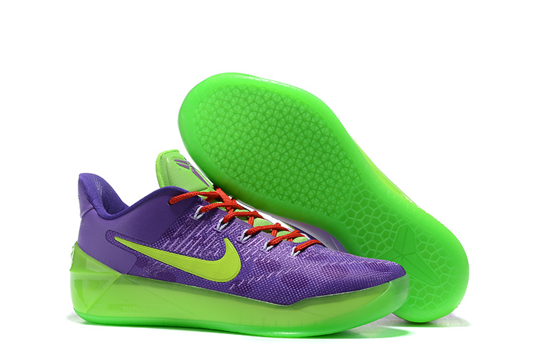 Nike Kobe 12 A.D Purple Green Shoes