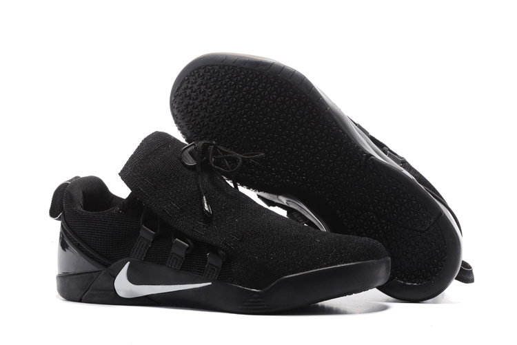 Nike Kobe 12 NXT All Black White Logo Shoes