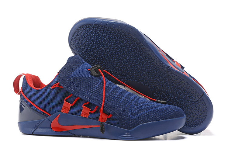 Nike Kobe 12 NXT Flyknit Royal Blue Red Shoes