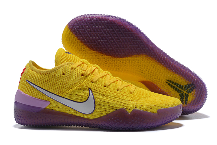 Nike Kobe 36 Degree Lakers Purple Yellow Shoes