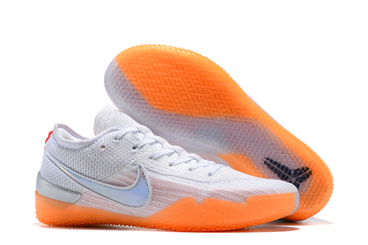 Nike Kobe 36 Degree White Orange Shoes