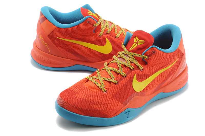 Nike Kobe 7 The Year Of Horse Red Blue Yellow Shoes