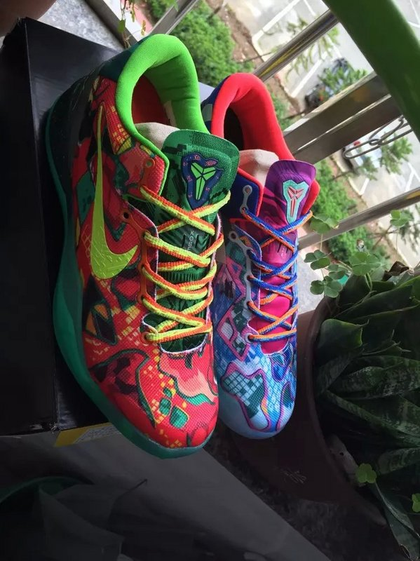 Nike Kobe 8 Mandarin Duck Colorful Shoes