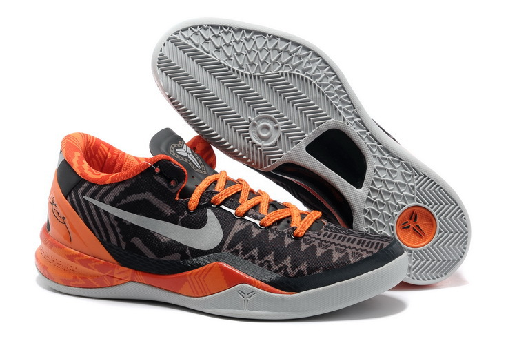 Classic Nike Kobe Bryant 8 Easter Black Orange