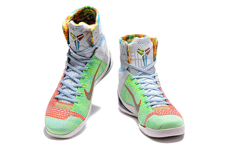 hot sale online 30142 8c87a Nike Kobe 9 High Easter Basketball Shoes [NS5525] - $83.00 ...