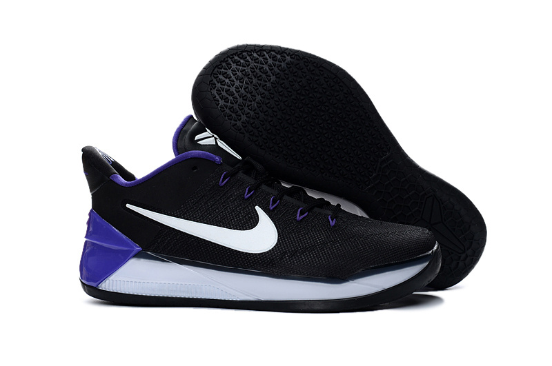 Nike Kobe A.D Black Purple White Shoes