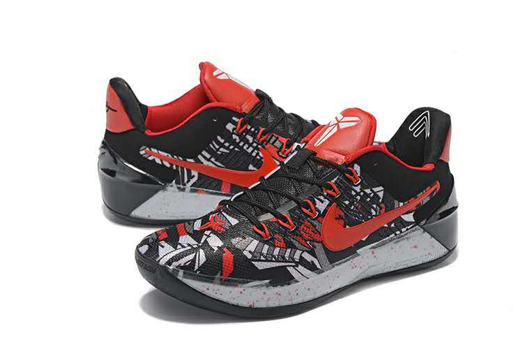 Nike Kobe A.D Black Red White Shoes