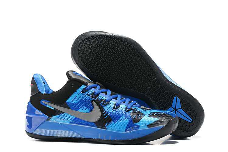 Nike Kobe A.D Blue Black Grey Shoes