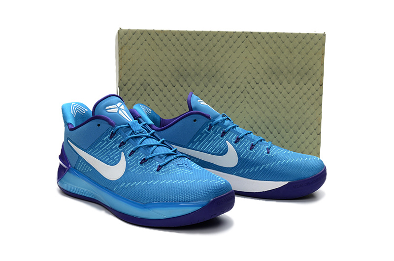 Nike Kobe A.D Blue White Shoes