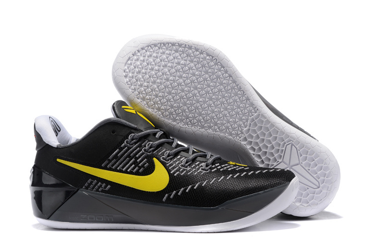 Nike Kobe A.D EP Black Yellow Shoes