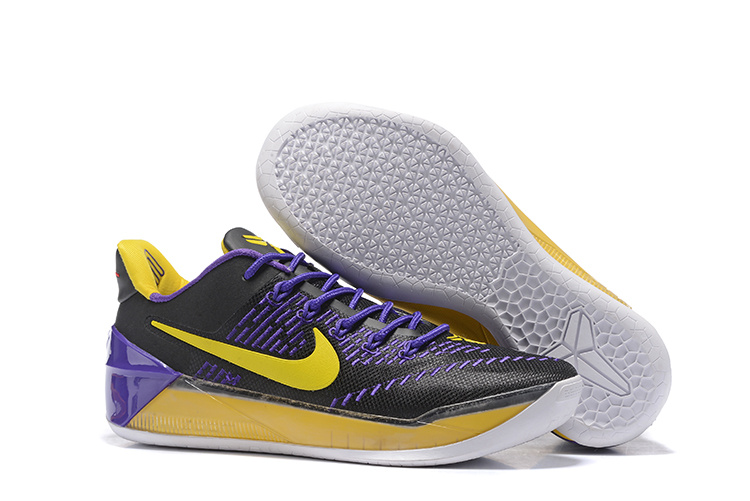 Nike Kobe A.D EP Purple Black Yellow Shoes