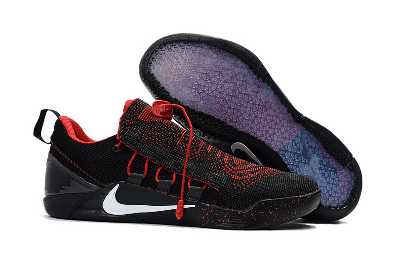Nike Kobe A.D. NXT Flyknit Black Red White Shoes