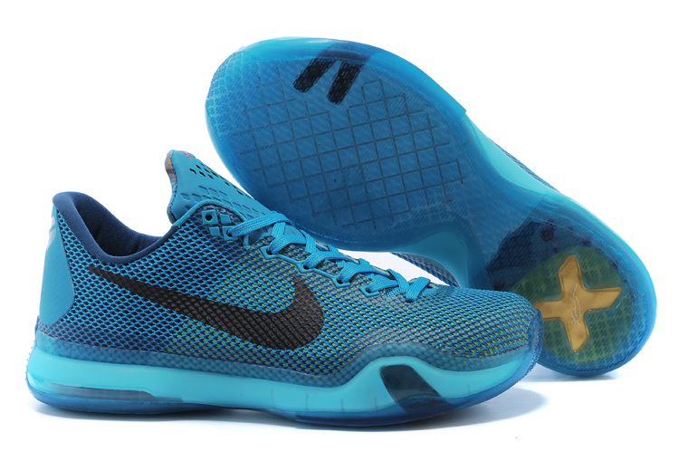 Nike Kobe Braynt 10 Blue Black Shoes