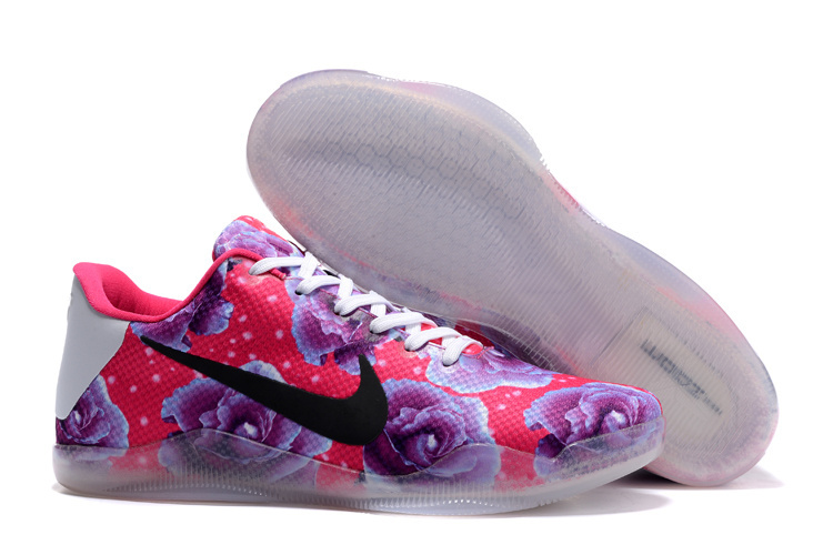 Nike Kobe Bryant 11 Breast Cancer Pink Purple Black Shoes