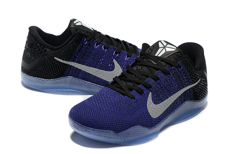 Nike Kobe Bryant 11 Elit Purple Black Shoes